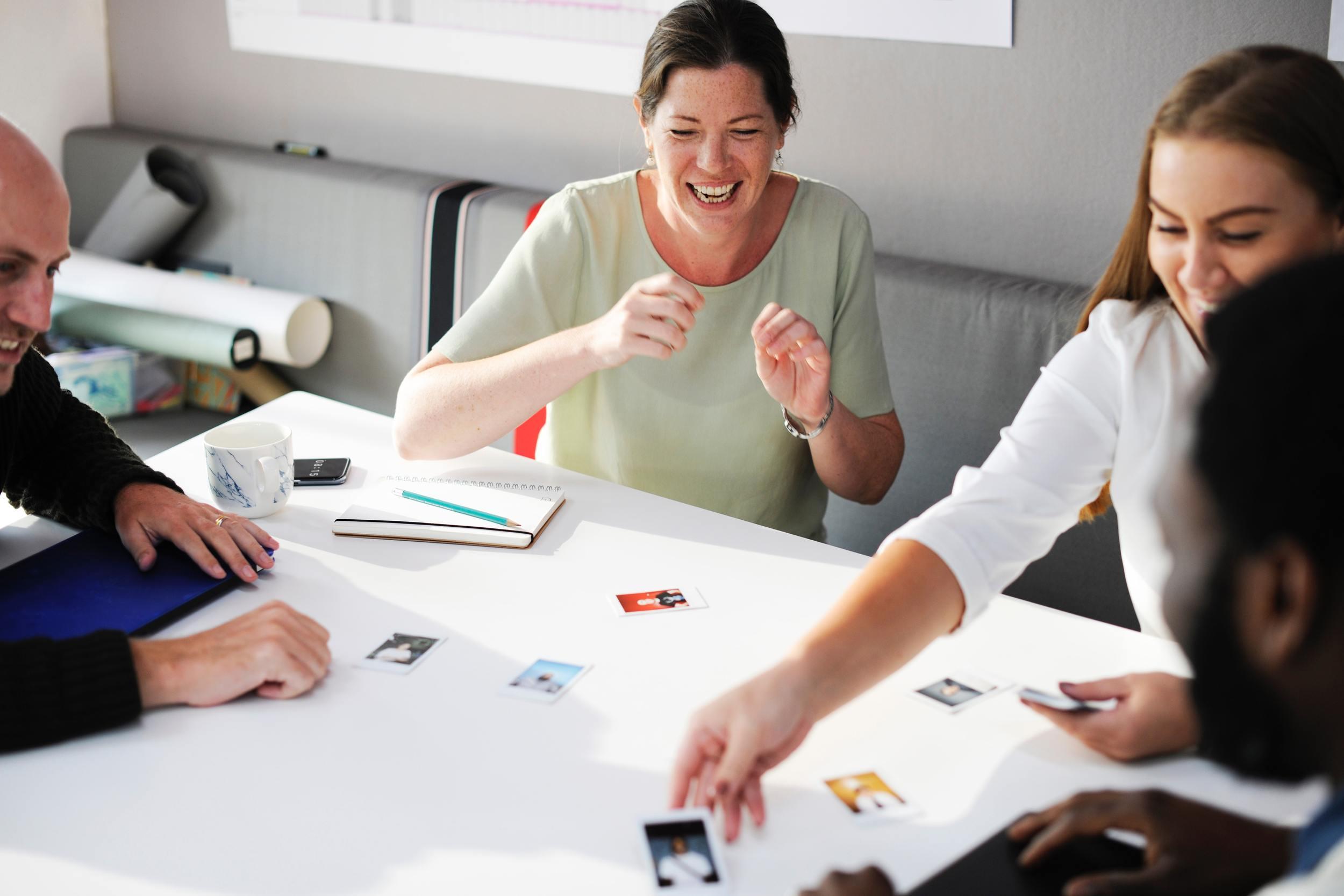 Samen brainstormen voor nieuwe ideeën