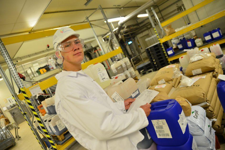 student opleiding voeding en productie