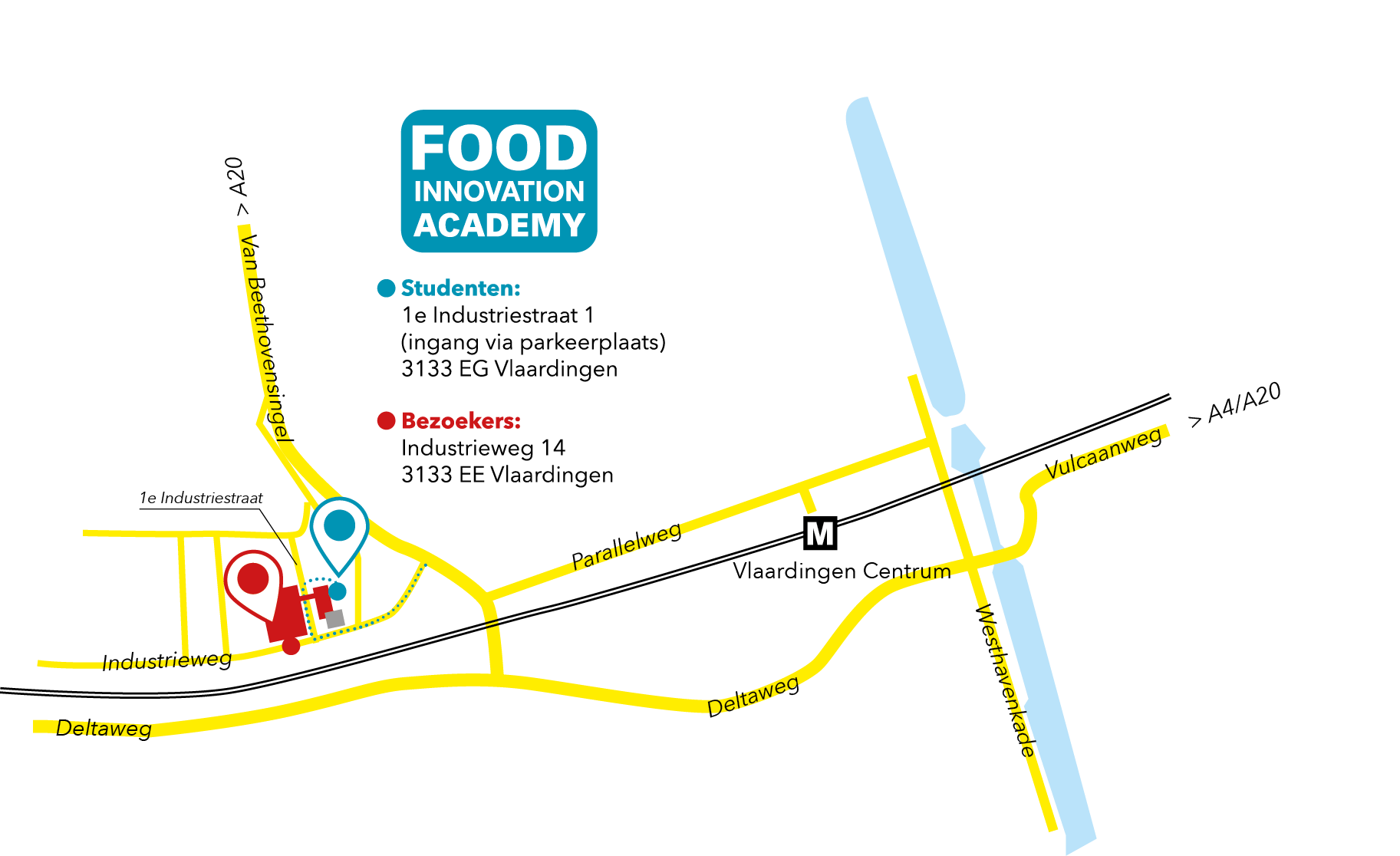 Routekaartje naar Food Innovation Academy