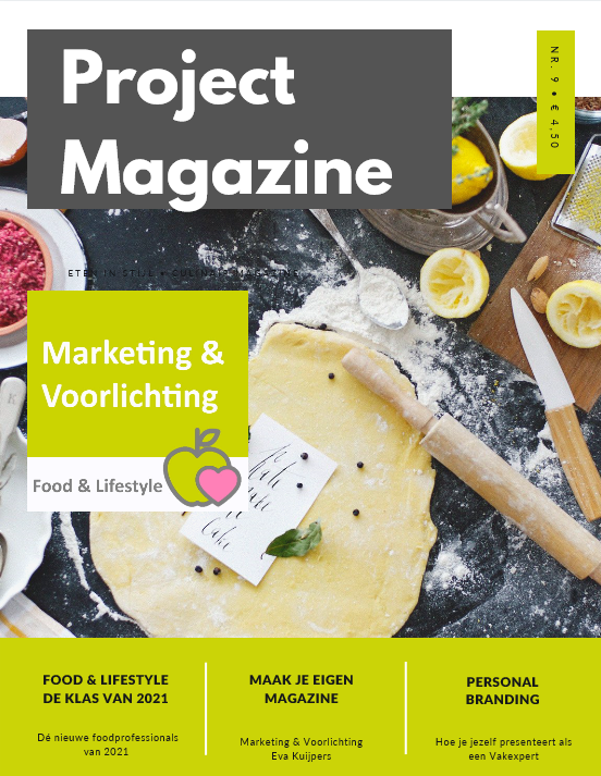 Voorkant project magazine