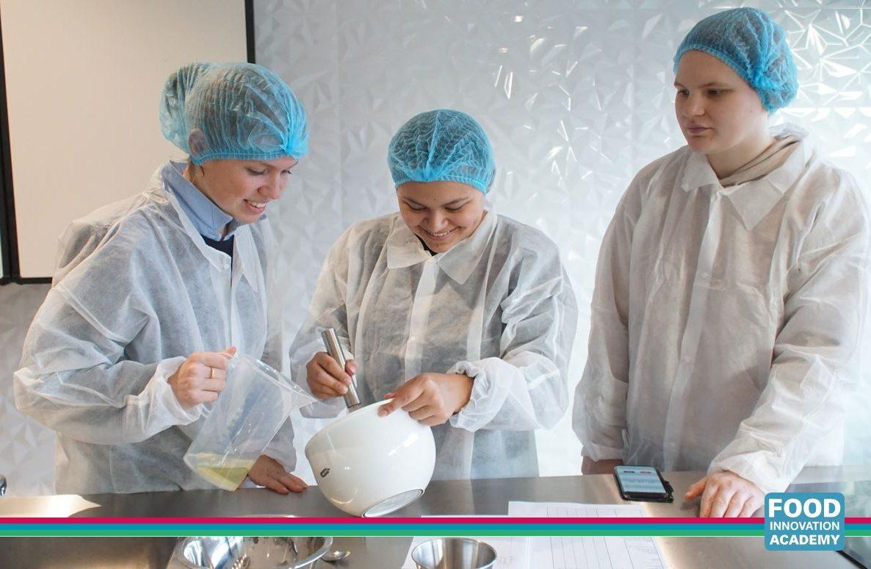 Lentiz studenten Food Innovation Academy Vlaardingen