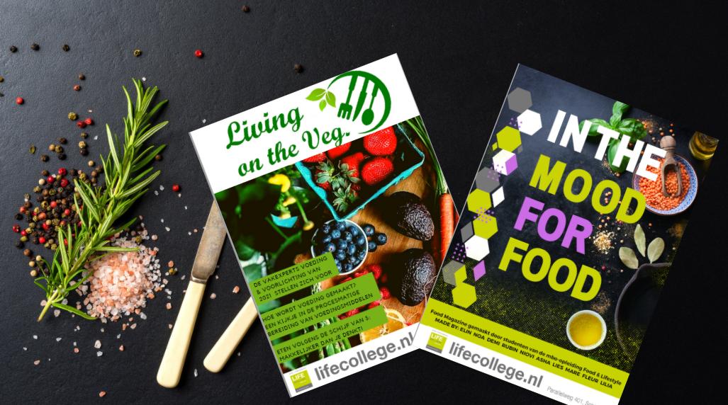 Winnende magazine Lentiz MBO Food & Lifestyle